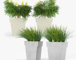 il vaso outdoor planter 3d