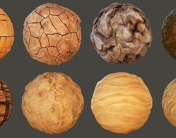 Stylized Desert Materials 3D PBR