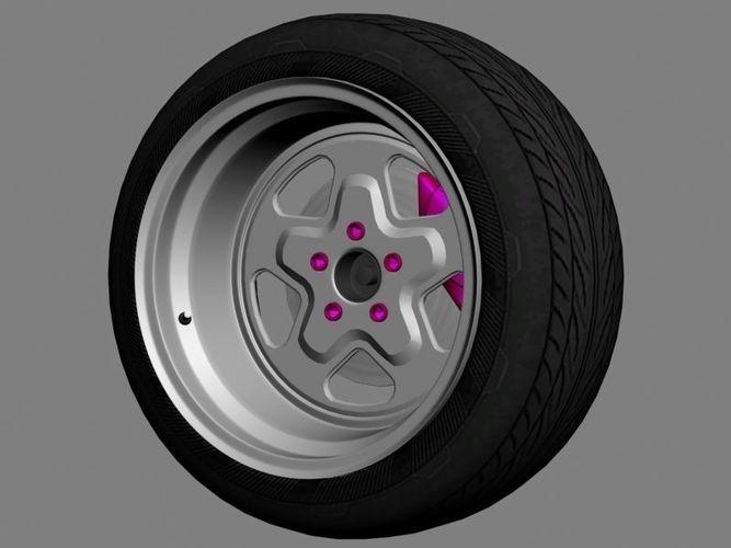 rims - weld prostar 3d model max obj mtl fbx stl tga 1