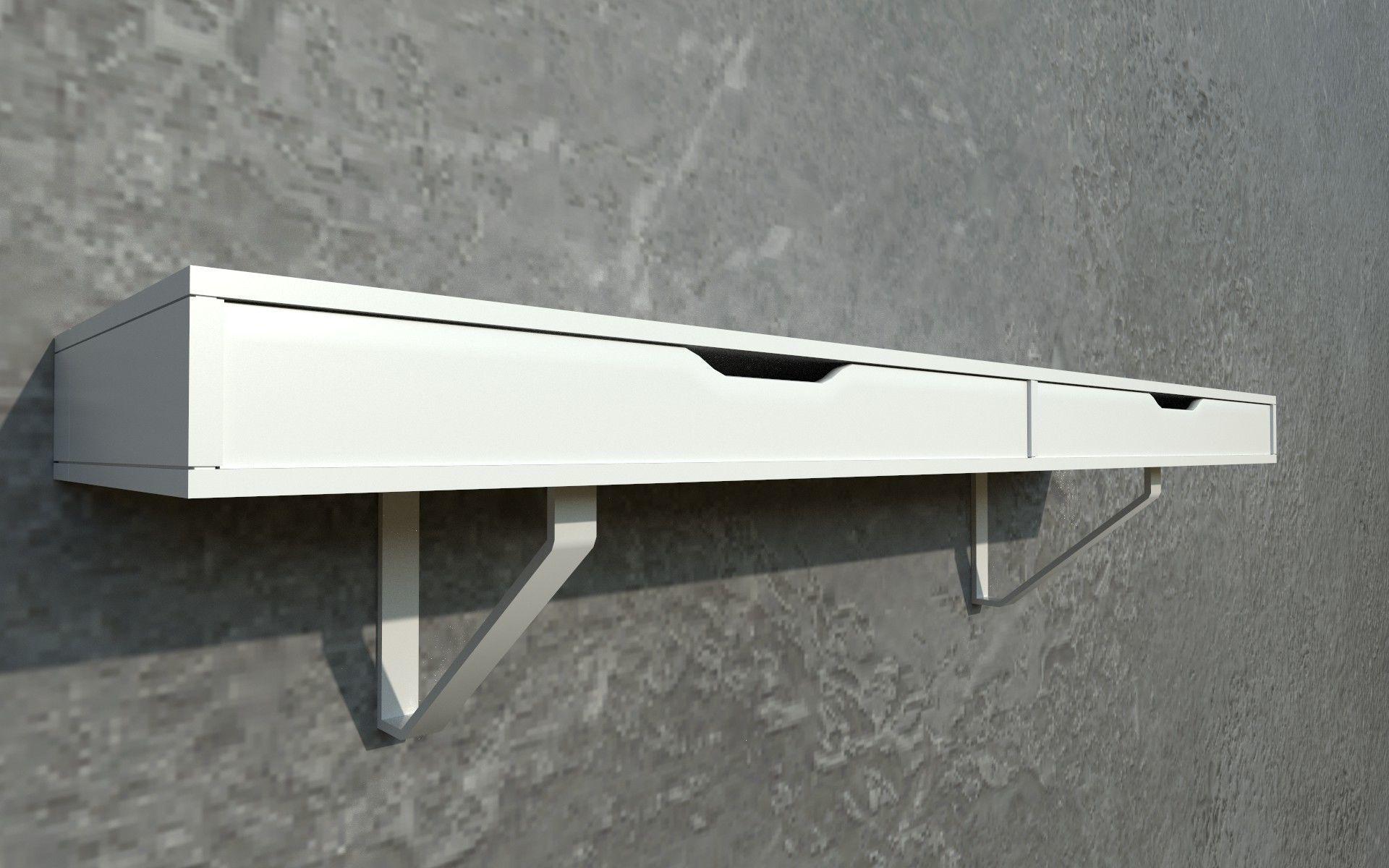 3D et IKEA EKBY ALEX LERBERG Shelf | CGTrader Lerberg Shelf on