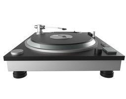 dj turntable disco dance music 3D model