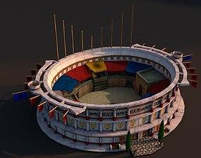 Rome colosseum 3D asset