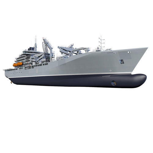 naval re-supply ship ras 3d model obj mtl 3ds fbx c4d dxf dae 1