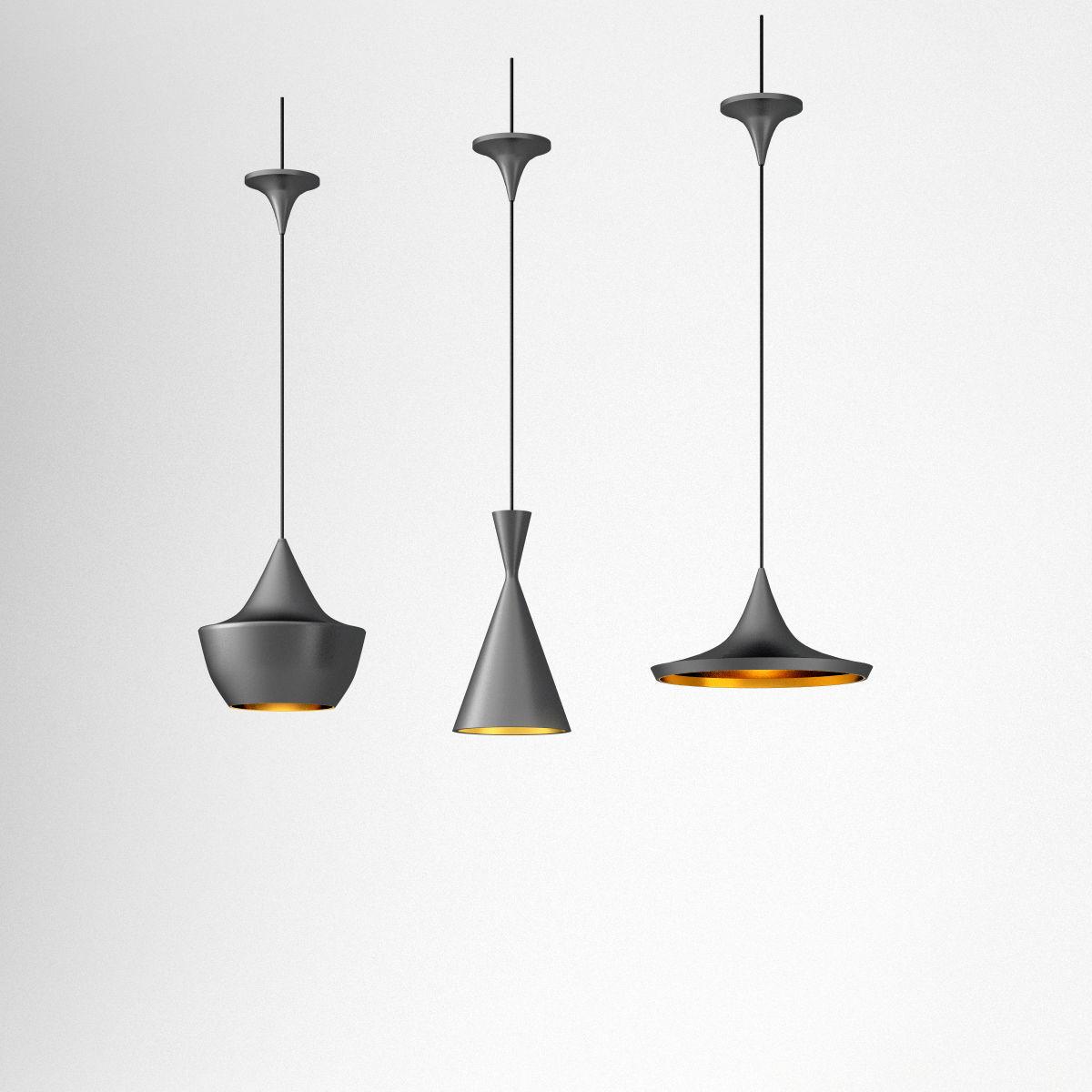 Tom Dixon Beat ceiling lamps