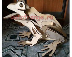 FROG Laser Cutting Plywood 3D printable model