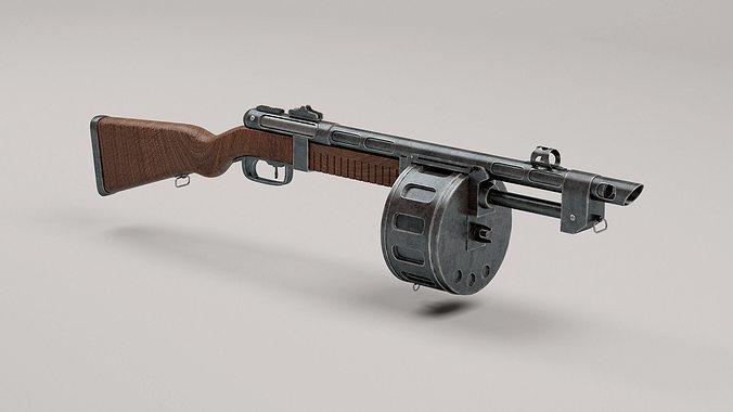 3d fallout terrible shotgun replica cgtrader - Replica mobel legal ...