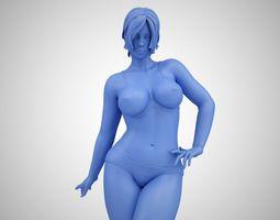Lovely Lady 3D print model