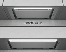 3D model Elica - HIDDEN IX A 60 and IX A 90