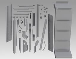 Engineering Parts for conveyors 3D