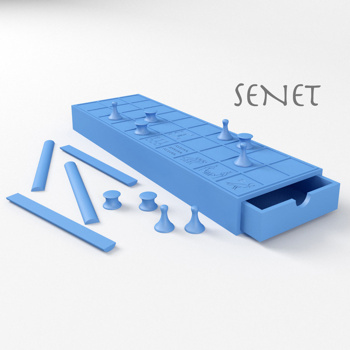 Senet Ancient Egyptian Board Game