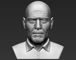 walter white breaking bad bust 3d printing ready stl obj formats