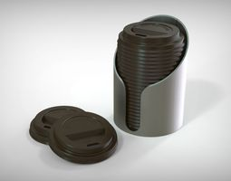 coffee cup holder 3D printable model
