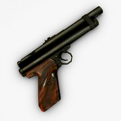 3D Tranquilizer Gun Silent