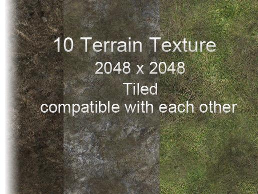 Terrain Texture Pack tiled | Texture