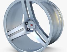 3d vossen vps-317 19 wheel silver
