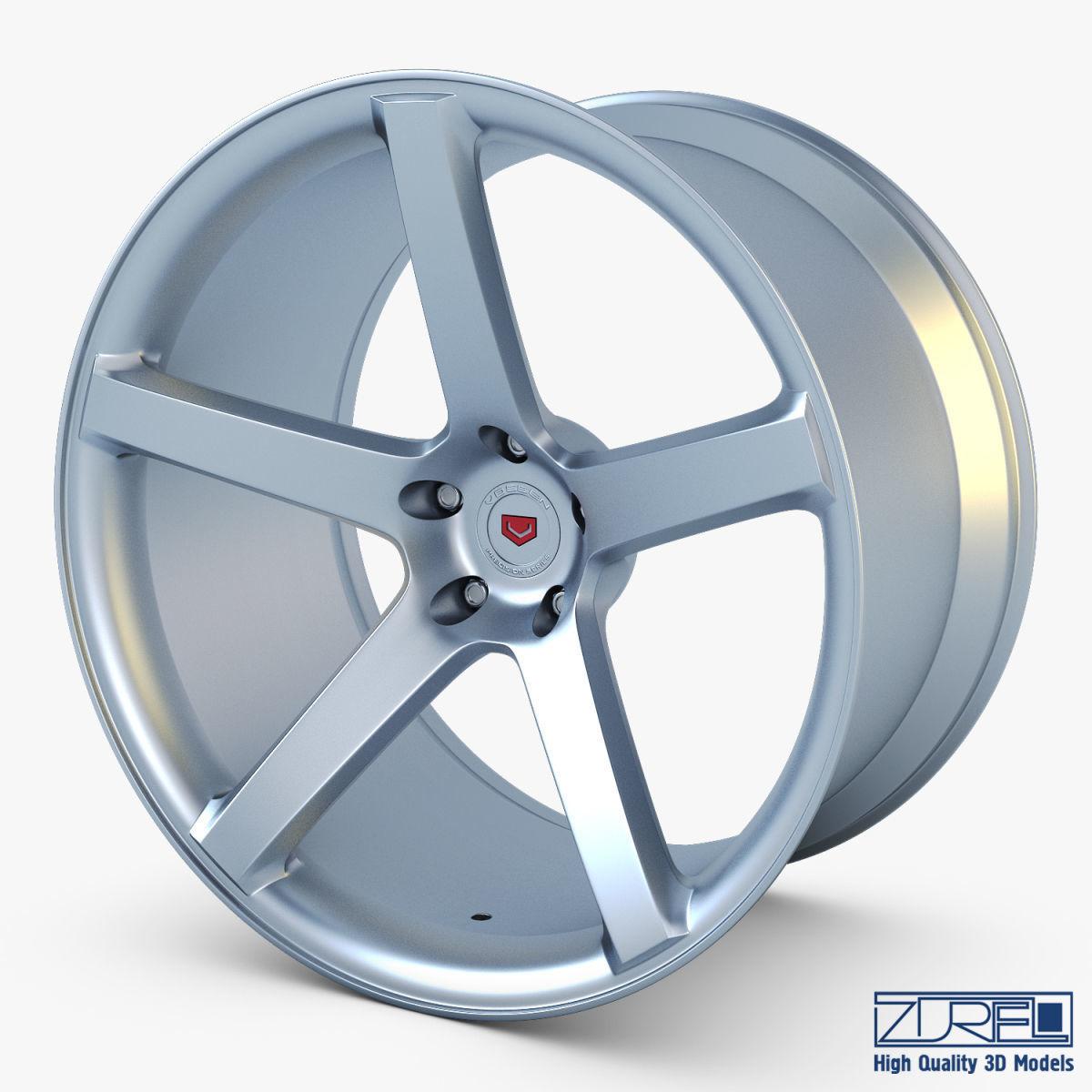 Vossen VPS-303 19 wheel silver