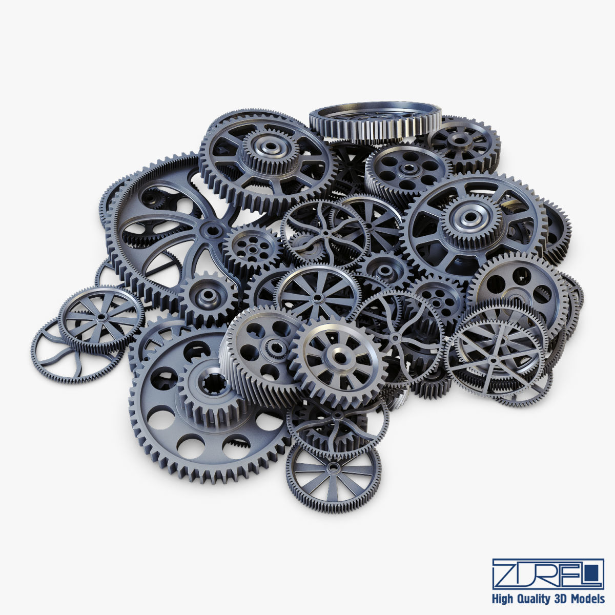 Pile of Scattered Gears v 1
