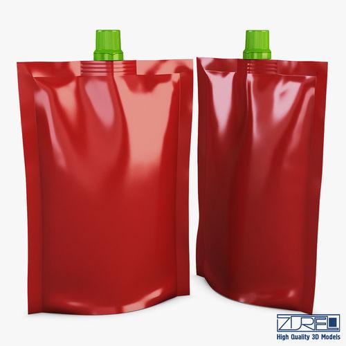 doypack packaging v 1 3d model max obj mtl fbx 1