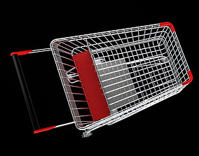 various shopping cart 3D