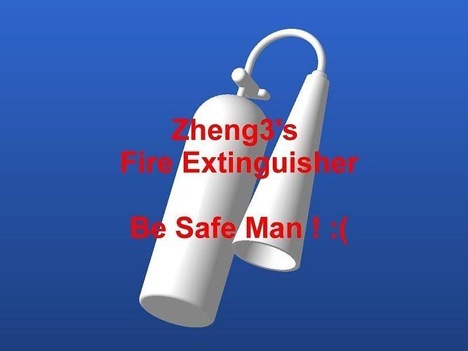 Zheng3 Fire Extinguisher