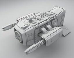 medium sentry drone 3D