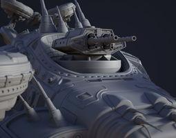 Matrix Airship 3D model
