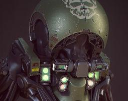 tadpole droid 3d model