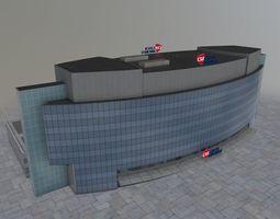 3D asset Prague Czech Airlines