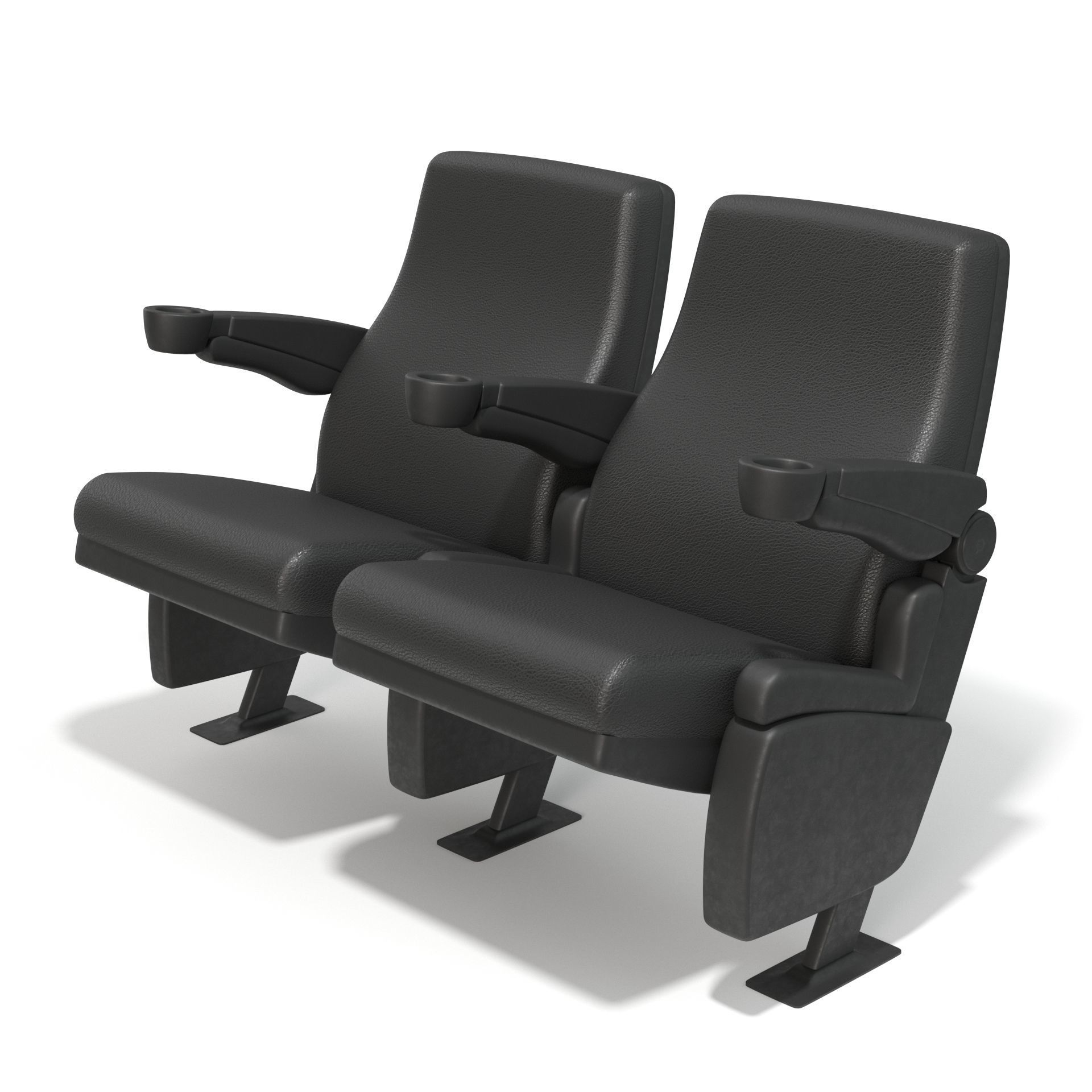 Movie Theater Chairs 3d Cgtrader