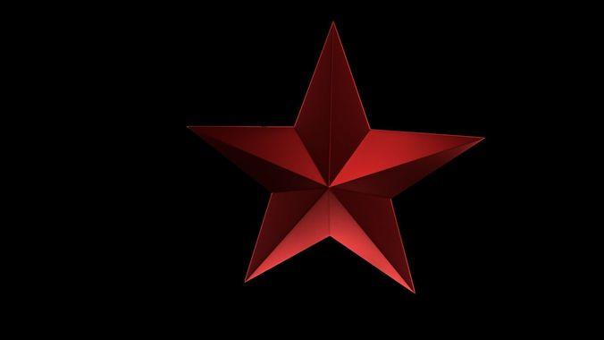 star 1 3d model obj mtl 3ds fbx stl blend x3d 1