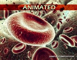 red blood cells animated 3d model max obj 3ds