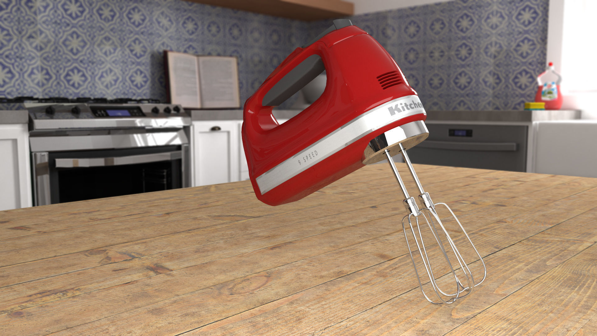 Kitchenaid Handmixer | 3D model