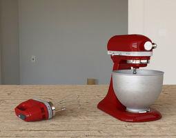 Kitchenaid Mixer 3D model