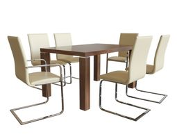 Niehoff - dining group 3D model