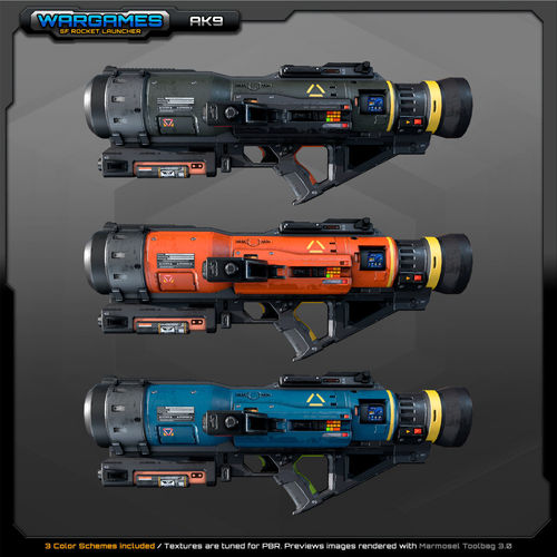 SF Rocket Launcher AK9