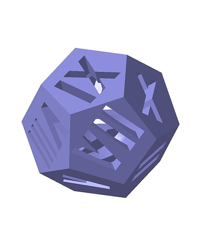 dodecahedron1 3d model stl 1