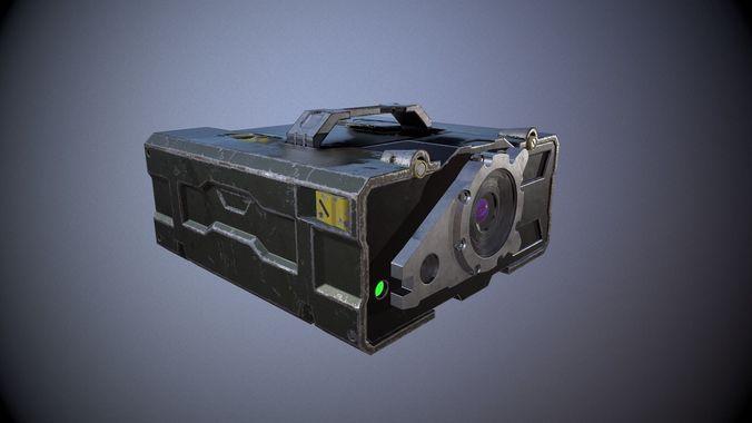 military rangefinder 3d model max obj mtl 3ds fbx 1