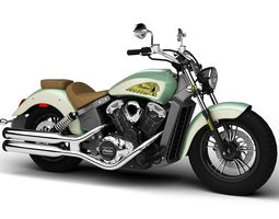 Indian Scout ABS 2018 3D