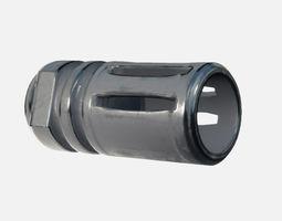 Barrel A2 Compensator 3D model