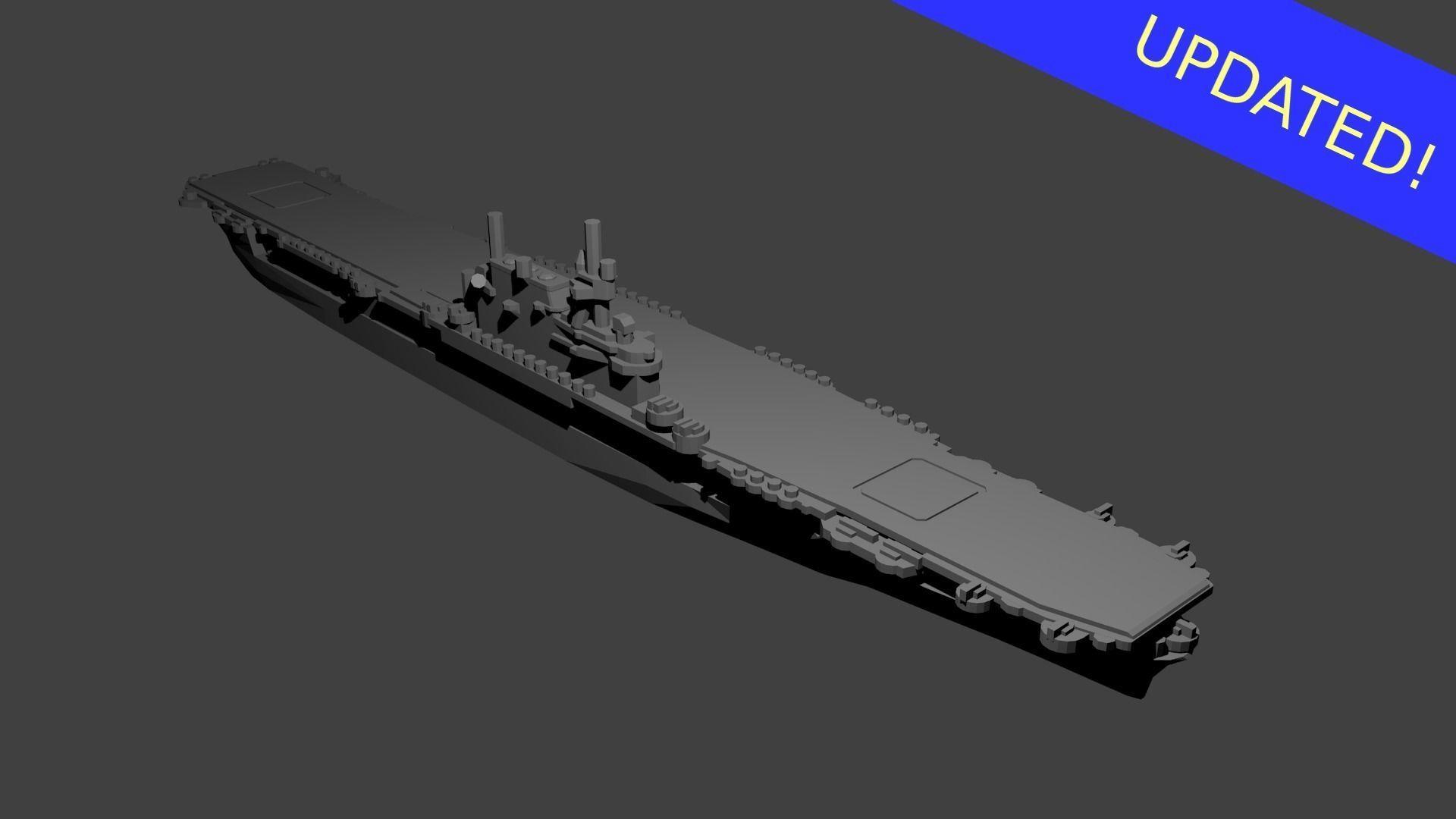 US Yorktown Class Aircraft Carrier