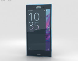 3D model Sony Xperia XZ Forest Blue