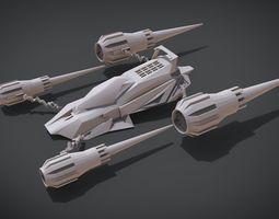 3D print model Hover Jet Ride