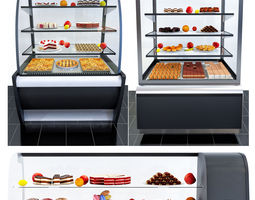 3D Refrigerated display cases Carboma