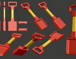 3D model Scoop or Shovel for children