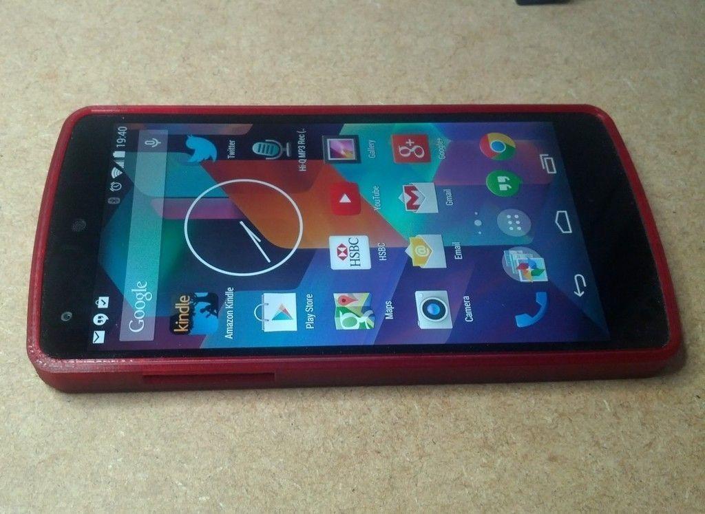 3D print model Nexus 5 Bumper | CGTrader