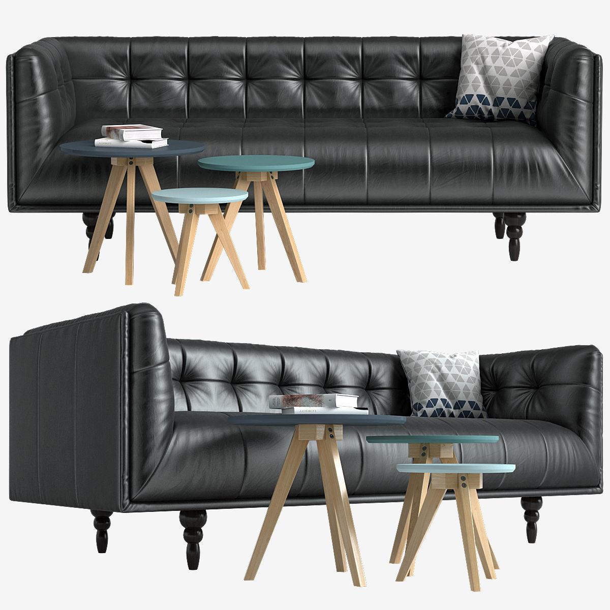Sofa Made Connor Table Orion Model Max Obj Mtl 1