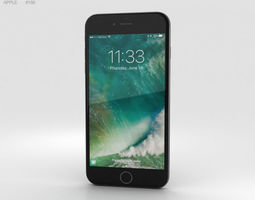 3D Apple iPhone 7 Plus Black