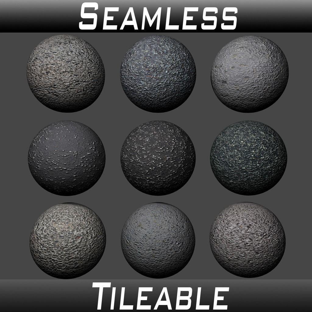 Ground Asphalt Textures Pack