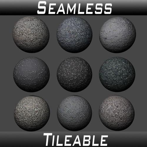 ground asphalt textures pack 3d model  1