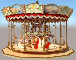 carousel exterior 3D